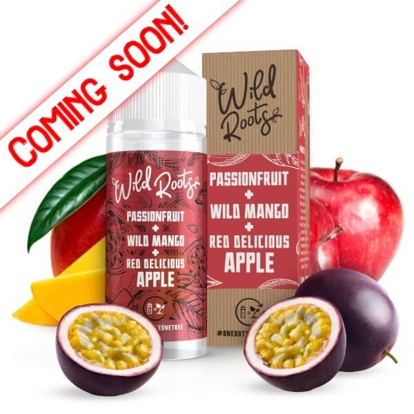 Wild Roots Passionfruit Mango Apple 100ml+