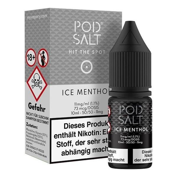 Pod Salt Ice Menthol 11mg Nikotin Salz