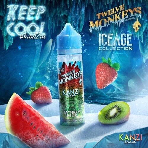 Twelve Monkeys Kanzi Iced 50ml+