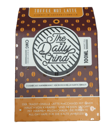 The Daily Grind Toffee Nut Latte 100ml+