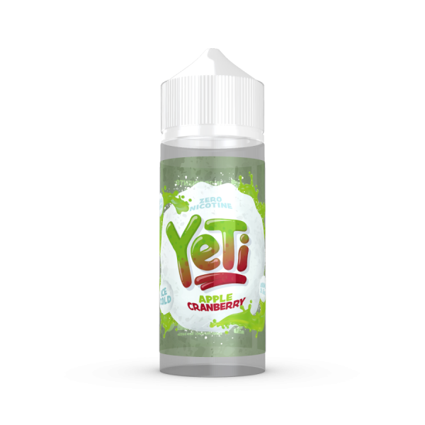 Yeti Apple Cranberry 100ml+