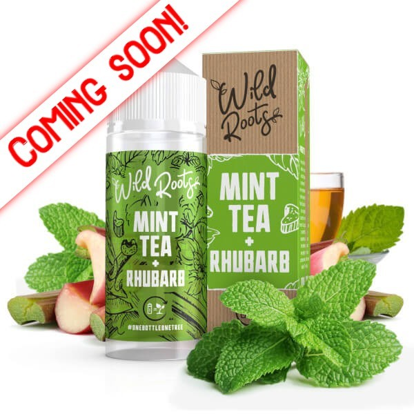 Wild Roots Wild Tea with Rhubarb 100ml+