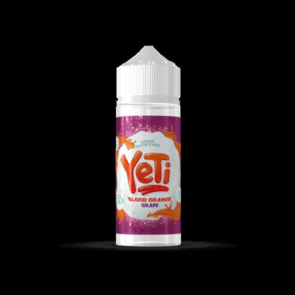 Yeti Blood Orange Grape 100ml+