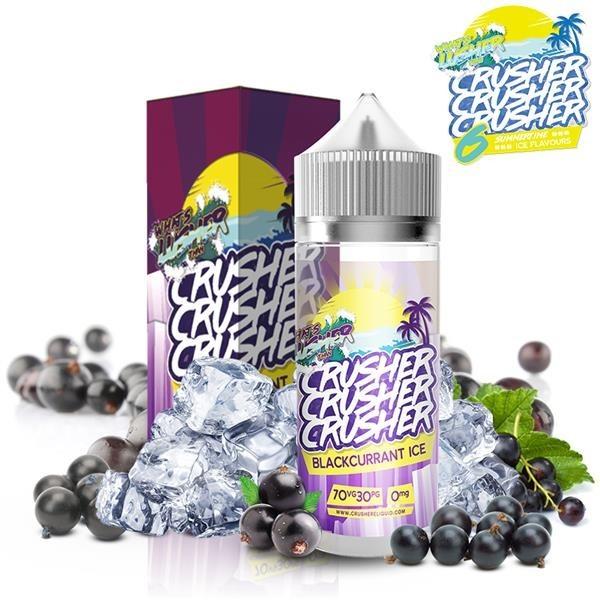 Crusher Blackcurrant Ice 100ml+