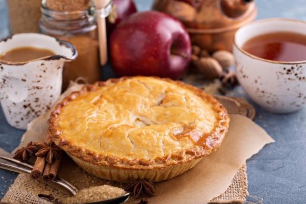 Dampfdorado Apple Crumble Pie