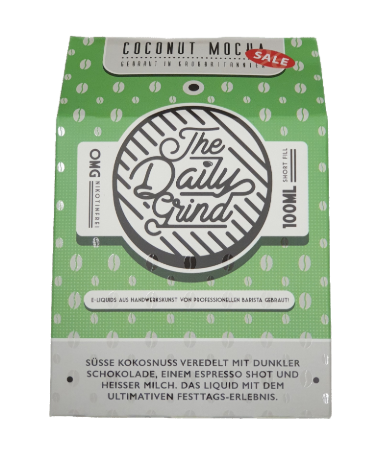The Daily Grind Coconut Mocha 100ml+