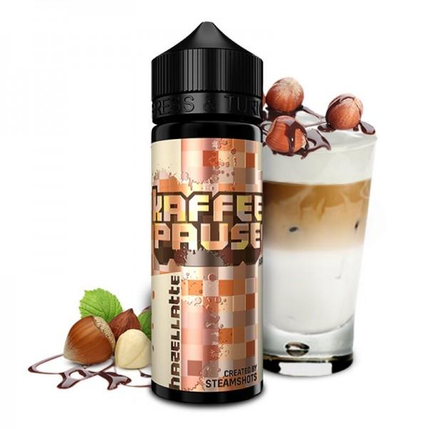 Steamshots Kaffeepause Hazellatte