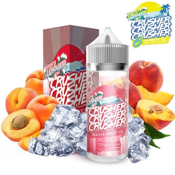 Crusher Peach and Apricot Ice 100ml+