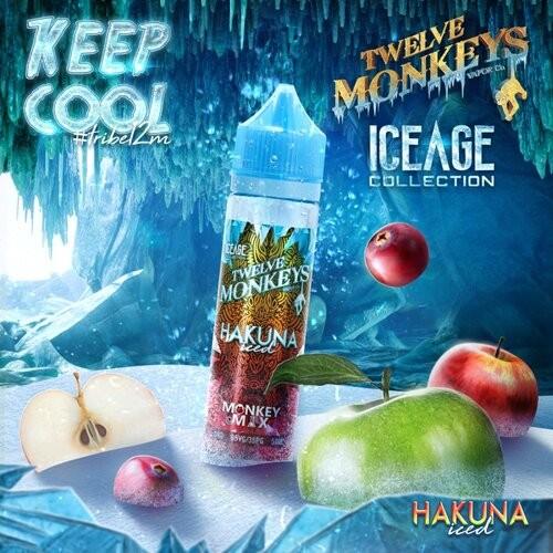 Twelve Monkeys Hakuna Iced 50ml+