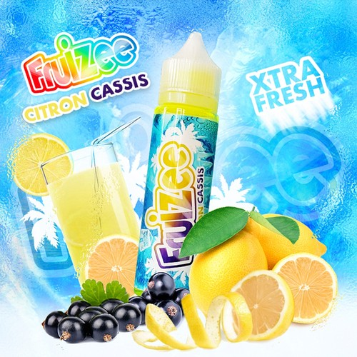 Fruizee Lemon Blackcurrant Xtra Fresh 50ml+