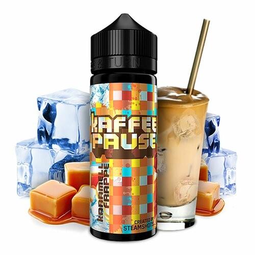 Steamshots Kaffeepause Karamell Frappe Ice