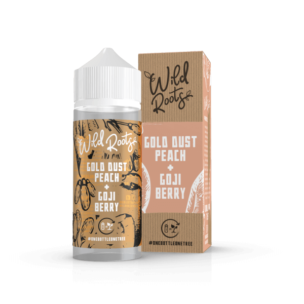 Wild Roots Gold Dust Peach 100ml+