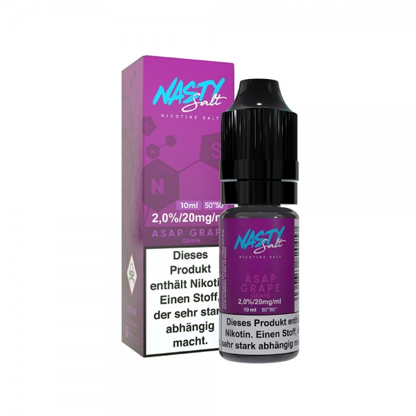 Nasty Juice - ASAP Grape Nikotin Salz