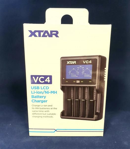 VC4 4-Schacht Ladegerät