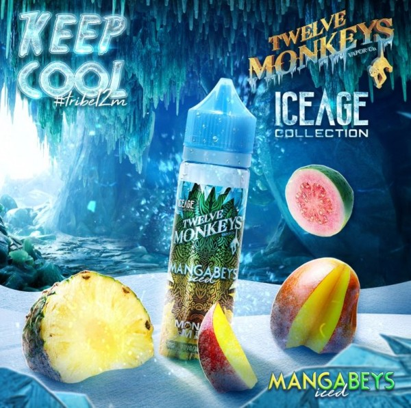 Twelve Monkeys Mangabeys Iced 50ml+