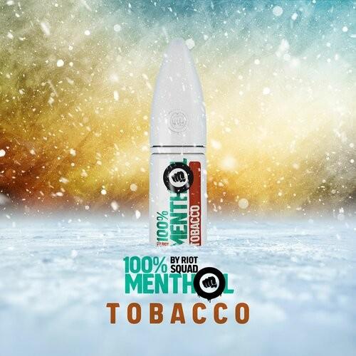 Riot Salt NS 100% Menthol -Tobacco 10mg