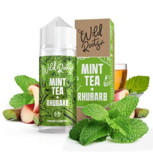 Wild Roots Wild Tea with Rhubarb 100ml+