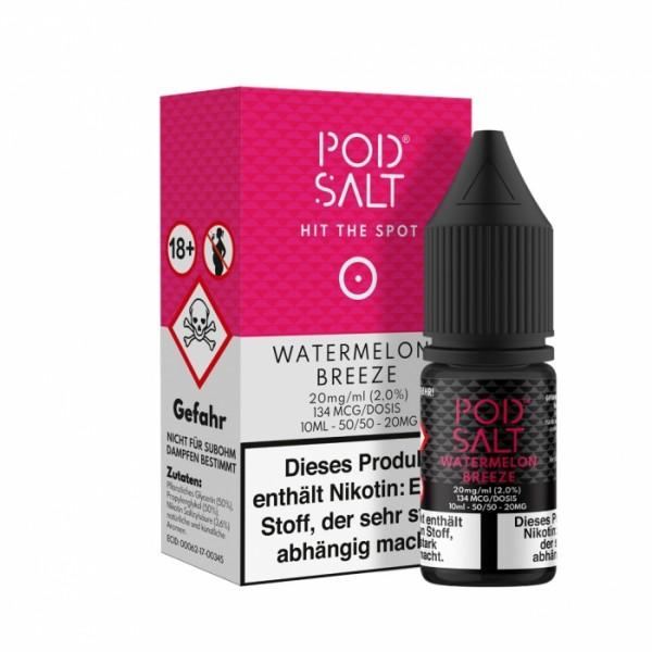 Pod Salt Watermelon Breeze 20mg Nikotin Salz