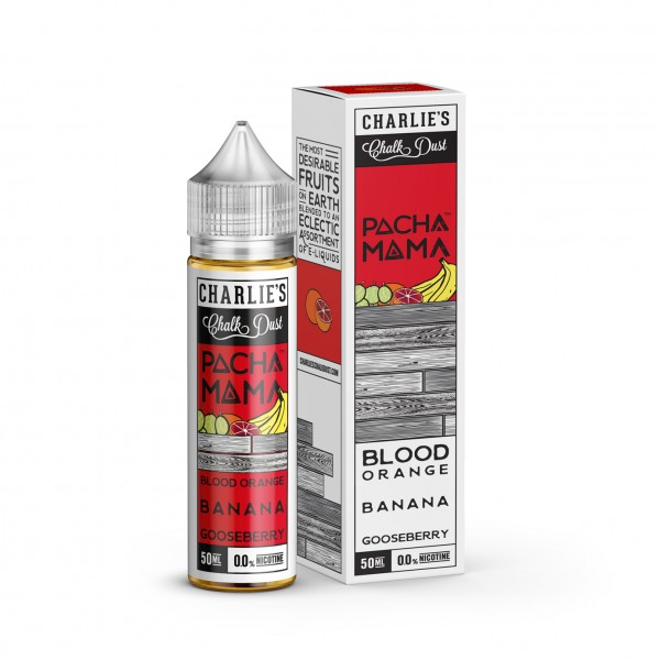 Pacha Mama Blood Orange Banana 50ml+
