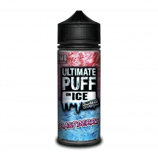 Ultimate Puff on Ice Raspberry 100ml+