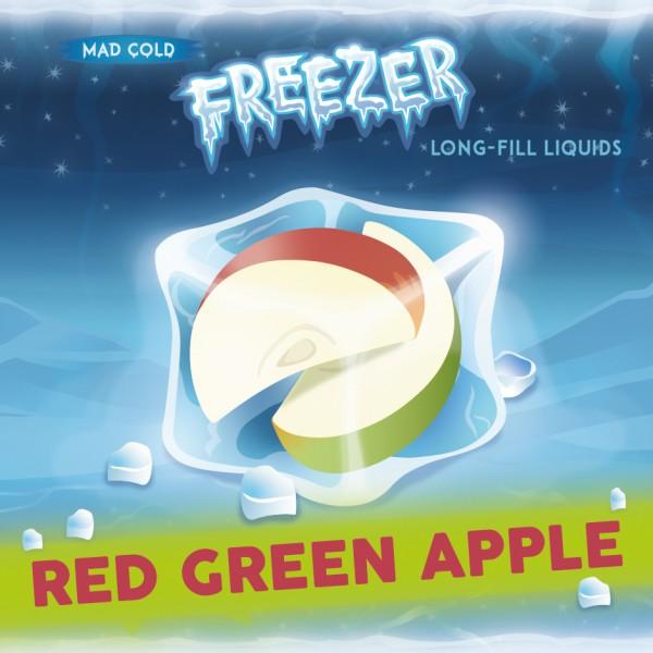 Freezer Red Green Apple