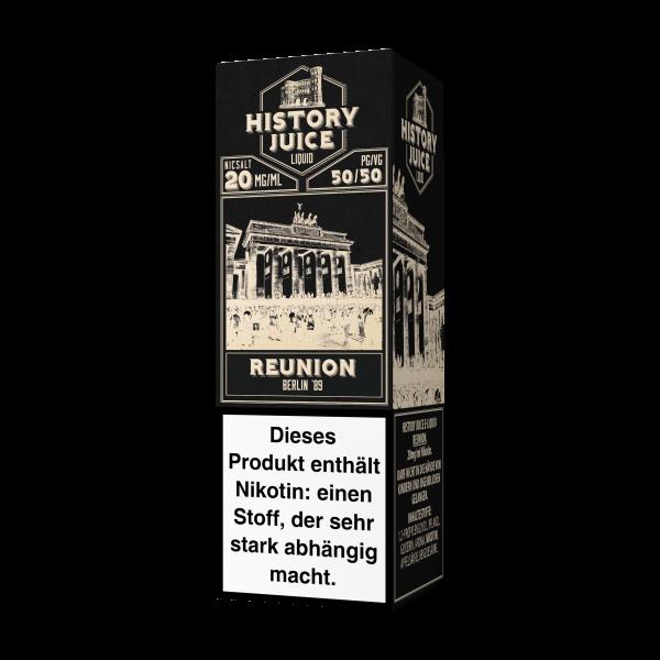 History Juice NS Reunion 20mg