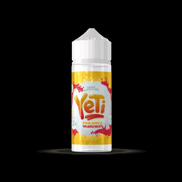 Yeti Pineapple Grapefruit 100ml+