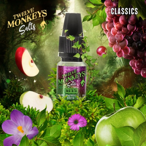 Twelve Monkeys NS Matata 20mg