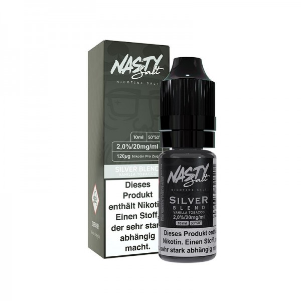 Nasty Juice NS Silver Blend 20mg